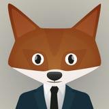 Fox具体化 免版税库存照片