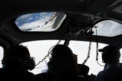Fox冰川-新西兰 库存照片