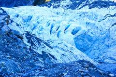 Fox冰川 免版税图库摄影