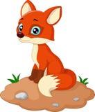 Fox动画片例证 库存照片