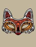 Fox面具 免版税库存图片