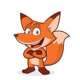 Fox с сложенными руками бесплатная иллюстрация