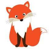 Fox шаржа вектора милый Иллюстрация вектора Fox иллюстрация вектора