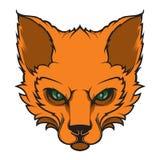 Fox头体育略写法 吉祥人 图库摄影