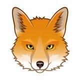 Fox头 向量例证