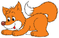 Fox. Vector clip-art / isolated illustration for your design and scrapbook Royalty Free Stock Photography