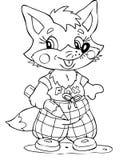 Fox ilustración del vector