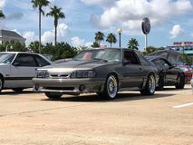 Fox body mustang royalty free stock images