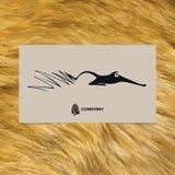 Fox bonito abstrato Fotos de Stock