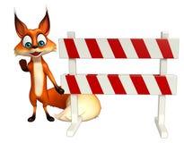 Fox cartoon character  Stock Photos