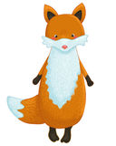 Fox cartoon character Stock Image