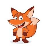 Fox con la mano sull'anca illustrazione vettoriale