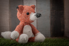 Fox crochet Stock Photo