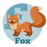 Fox de la historieta de ABC Foto de archivo libre de regalías