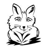 Fox de portrait d'imagination Image stock