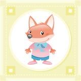 Fox do bebê ilustração royalty free