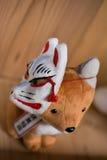 Fox doll Stock Image
