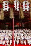 Fox ema at Kyoto's Fushimi-inari Stock Photography
