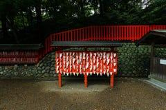 Fox ema at Kyoto's Fushimi-inari shrine Royalty Free Stock Photo