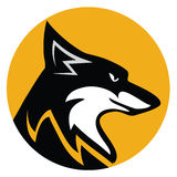 Fox emblem Royalty Free Stock Photography