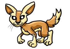 Fox engraçado de Fennec ilustração stock