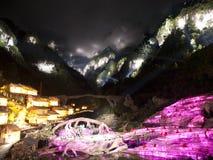 Fox FairyShow de Zhangjiajie Tianmen Image stock