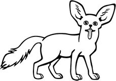 Fox Fennec бесплатная иллюстрация
