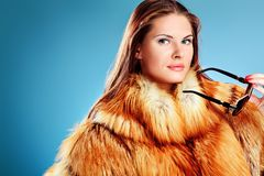 Fox fur Royalty Free Stock Photography