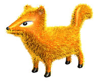 Fox Fur_Raster Stock Image
