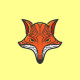 Fox głowa ilustracja wektor