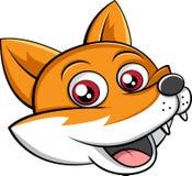 Fox głowy wektor Obrazy Stock