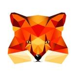 Fox-Gesicht Stockbild