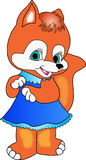 Fox girl. Stock Images