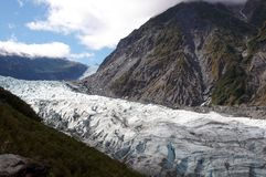 Fox Glacier Royalty Free Stock Images