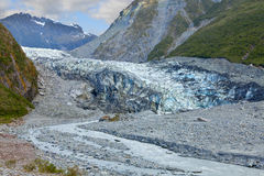 Fox Glacier Royalty Free Stock Photo