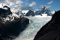 Fox Glacier Stock Photography