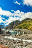 Fox glacier Royalty Free Stock Image