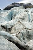 Fox Glacier. Image of Ice serracs on the fox glacier Royalty Free Stock Photos