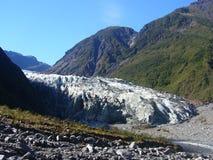 Fox Glacier. The majestic Fox Glacier, New Zealand royalty free stock photography