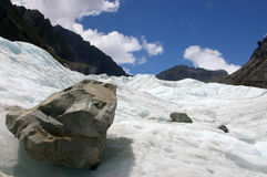 Fox Glacier Royalty Free Stock Photography