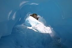 Fox Glacier Ice Cave Royalty Free Stock Photography