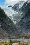 Fox glacier important natural traveling destination in south isl Stock Photos