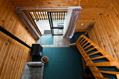 Fox Glacier Lodge apartment Interior - New Zealand Stock Photo