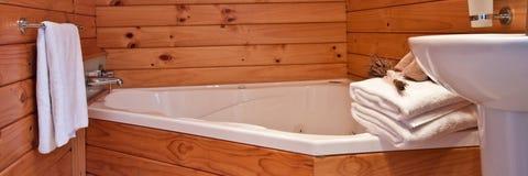 Fox Glacier Lodge apartment Interior - New Zealand Royalty Free Stock Photo