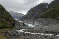 Fox glacier Stock Photo