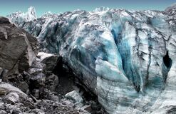Fox Glacier New Zealand. royalty free stock images