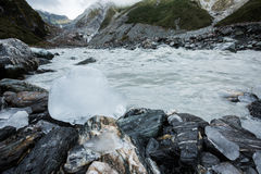 Fox Glacier in New Zealand Royalty Free Stock Images