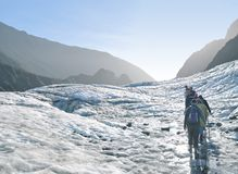 Fox Glacier trekking, New Zealand Royalty Free Stock Photography