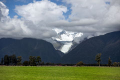 FOX GLACIER, WESTLAND TAI POUTINI NATIONAL PARK/NEW ZEALAND - FE Royalty Free Stock Photo