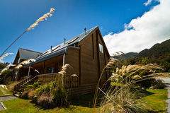 Fox-Gletscher-Hütte Stockbilder